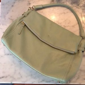 Kate Spade Pebbled Leather Polly Flap Purse